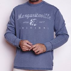 0017c8a223544 L S THERMAL CREW - Margaritaville Apparel Store Margaritaville Store