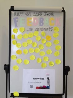 Feedback wall after first couple of days...keep 'em coming!