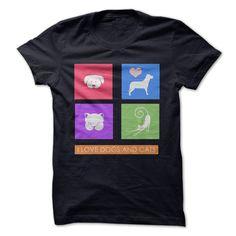 I love cats and dogs T Shirt, Hoodie, Sweatshirt