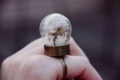 a dandelion ring ... isn't it beautiful!