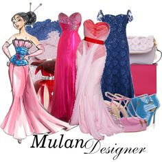 "Mulan - ""DM nerds"" by aksmasads on Polyvore"