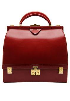 Legendary Vintage Hermès Sac Mallette bag made of smooth Box leather in Burgundy color. Size 34х30х15 cm #1960s #France #Hermes