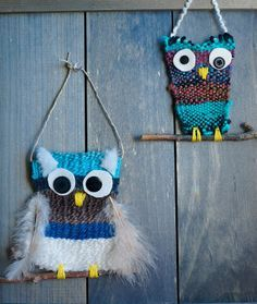 that artist woman: Woven Owls #2