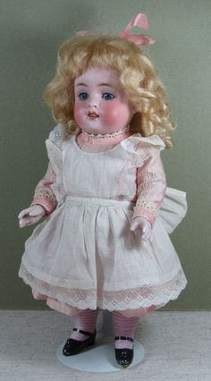 "Stunning 10"" All Bisque Kestner 150-5 ~ A Big And Beautiful Doll! from aquietplace on Ruby Lane"