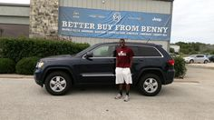 Congratulations and Best Wishes SIDNEY on the purchase of your 2013 Jeep Grand!  We sincerely appreciate your business, Benny Boyd Motor Company - Marble Falls and LISA COOK.