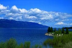 View across Cascade Lake.