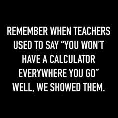 All my math teachers