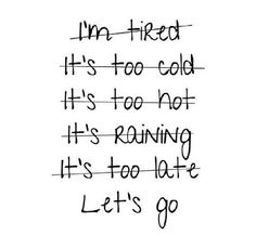 No excuses for me today. I am getting this workout done. pic.twitter.com/C1T3ySjduL