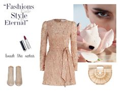 """""""nude"""" by denisahad ❤ liked on Polyvore featuring Zimmermann, Aquazzura, Cult Gaia and Givenchy"""
