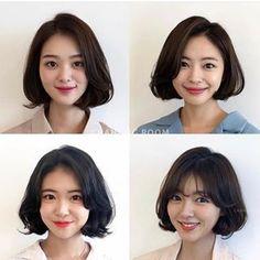 Pin on Midium hair Short Bob Styles, Medium Hair Styles, Before After Hair, Korean Short Hair, Pin On, Asian Hair, Girl Haircuts, Permed Hairstyles, Girl Short Hair