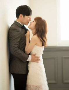 Comedian Bae Seul Gi and her husband-to-be are all smiles in wedding photo shoot | allkpop.com