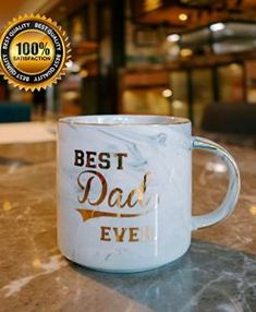 Vilight PARENTS Ceramic Coffee Mugs Gift | Marshmallowchef Best Dad Gifts, Cool Gifts, Gifts For Dad, Specials Today, Cute Box, Gold Marble, Drinkware, Coffee Mugs, Parents
