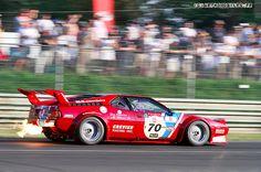Explosive Breath    BMW M1 at Le Mans Classic.    Copyright Arthomobiles.fr