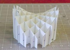 Math Craft Monday: Sliceform Hyperbolic Paraboloid