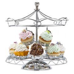 Carousel Cupcake Holder.