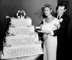 Rita Hayworth on her wedding day to Dick Haymes, at the Sands Hotel. All now sadly gone.