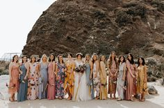 A California Wedding - Best California Wedding Locations From the Mountains to the Sea - Love It All Bridal Party Dresses, Black Wedding Dresses, Green Wedding Shoes, Wedding Colors, Wedding Flowers, Wedding Locations California, California Wedding, Southern California, Boho Wedding