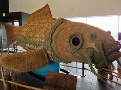 お祭りの鯉。