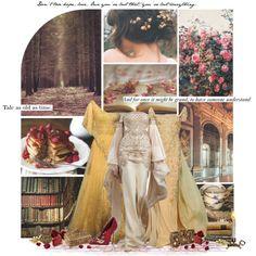 Beauty and the Beast (Belle) Disney Princess Outfits, Disney Bound Outfits, Greek Goddess Dress, Fairytale Fashion, Fandom Fashion, Cool Outfits, Formal Outfits, Fashion Outfits, Event Dresses