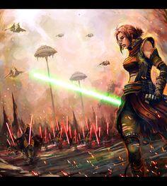 Star Wars; by longai