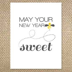 New Year Bee Sweet by uluckygirl on Etsy, $2.95