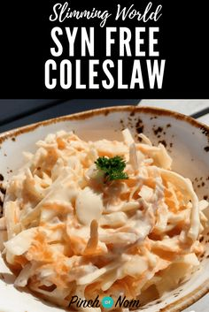 Coleslaw is a classic side dish to accompany salads and there's a lot of Slimming World recipes out there. This is how we make our Syn Free Coleslaw.