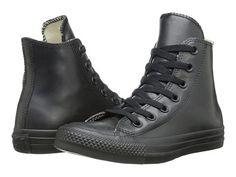Converse Chuck Taylor® All Star® Rubber Hi Black - 6pm.com