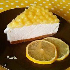 """""""Önceden yayınladığım limonlu pastamla yarışmaya katılmak istedim @mutfakgram #limonlutarifler @limonbahcemiz@mutfaksirlari Kolay Cheesecake 2 paket…"""""""