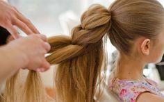 Как на длинные тонкие волосы сделать такую шикарную косу!