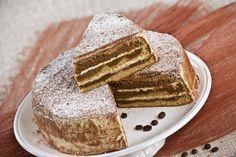 Receita de bolo cappuccino. Descubra como preparar a nossa receita de bolo cappuccino de maneira prática e deliciosa com a Teleculinária!
