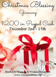 Woman to Woman: Christmas Blessing Giveaway 2013