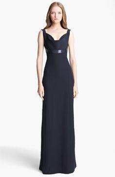 Armani Collezioni Beaded Strap Cady Gown 2013