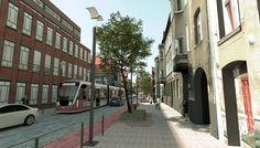Project by FRAG association, Revitalization of Do Studzienki street, Gdansk 2015