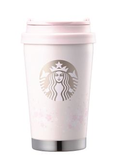 Starbucks KOREA 2018 Cherry Blossom SS Siren Elma Tumbler 355ml 1ea #Starbucks