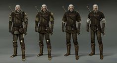 The Witcher 3: Gryphon Armor, Marek Madej on ArtStation at https://www.artstation.com/artwork/G6Yx1