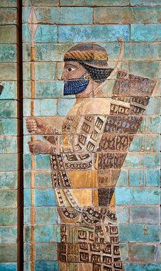 Guerreiro Aquemênida, 510 a.c