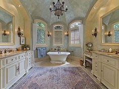French Country Bathroom Designs Ideas 18