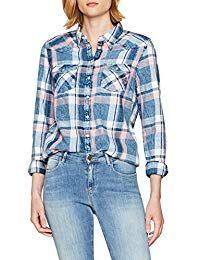 Wrangler Western Shirt Chemise Femme  femme  blouse  élégant  beau  mode   e65da4da0fc