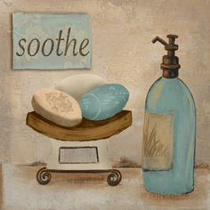 Soothe Prints by Hakimipour-ritter Bathroom Artwork, Bathroom Pictures, Bathroom Spa, Laundry In Bathroom, Bathroom Prints, Bathroom Black, Black Framed Art, Framed Art Prints, Fine Art Prints