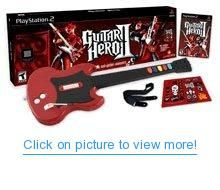 Guitar Hero 2 Bundle with Guitar - PlayStation 2 Guitar Hero, Cool Guitar, Playstation 2, Middle Childhood, Hero Games, Star Wars, Music System, Song List, Games