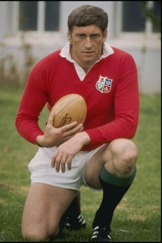 Legendary Willie John McBride-Ireland: 1962, 1966, 1968, 1971 and undefeated 1974 Lions tours