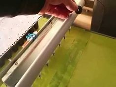 A needle seeder machine prototype that can do about 70 trays per hour without…