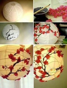 paper lantern - decorate