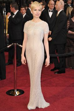 Michelle Williams in Chanel Haute Couture gown at the Oscars