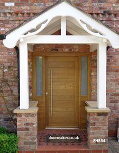 contemporary oak door sidelights