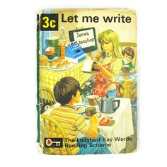 Items similar to Let Me Write by W.Murray with illustrations by Martin Aitchison. Book The Ladybird Key Words Reading Scheme, 1972 on Etsy Ladybird Books, Children Books, Vintage Children's Books, Craft Shop, 3c, Illustrations, Let It Be, Antique, Baseball Cards