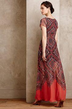 Feeling fine maxi dress