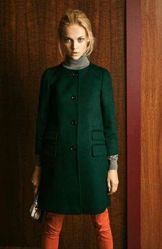 Winter coat - love the color