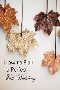 great fall wedding ideas for 2015: