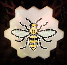 Manchester Bee Symbol Vinyl Decal Car Truck Window Laptop